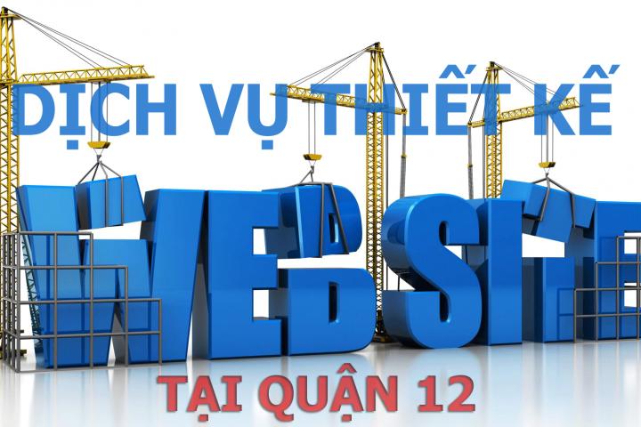 Thiết kế website giá rẻ tại quận 12
