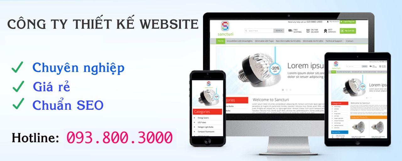 Thiết kế website giá rẻ tại quận 11