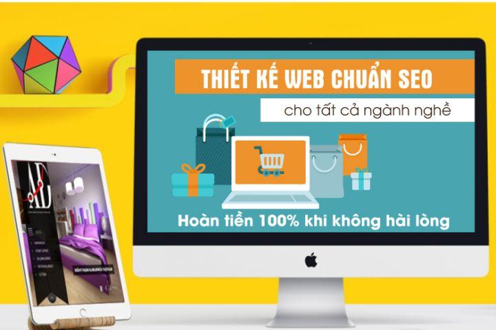 Thiết kế website giá rẻ tại quận 8