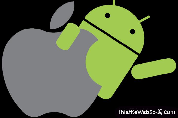 Thiết kế App Mobile cho hệ điều hành IOS hay Android trước?