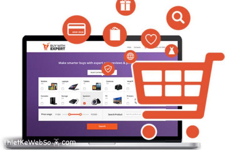 Thiết kế website bán hàng tại Nhà Bè