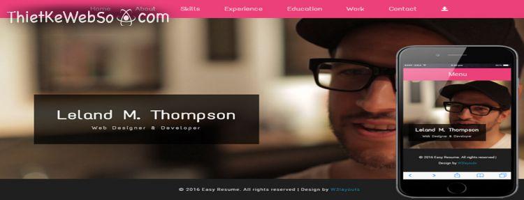 Thiết kế website cá nhân tại quận 12