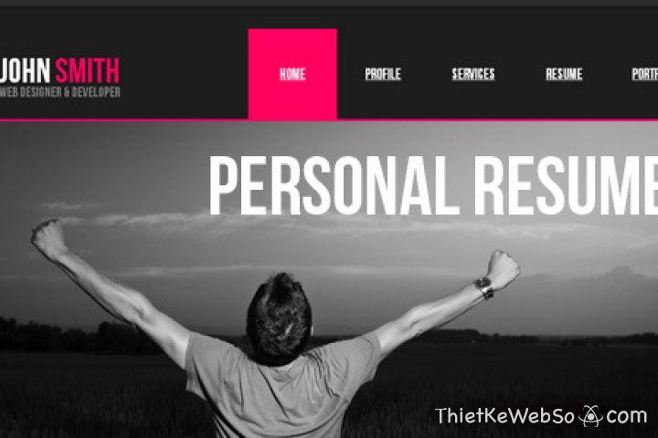 Thiết kế website cá nhân tại quận 8