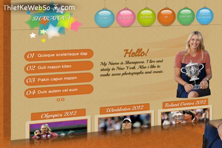 Thiết kế website cá nhân tại quận Bình Tân