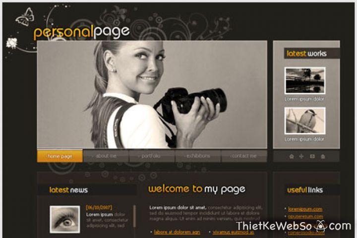 Thiết kế website cá nhân tại quận Gò Vấp