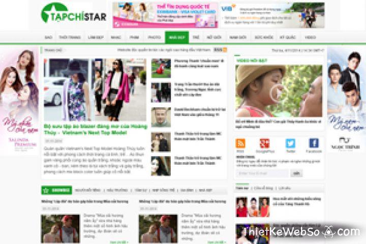 Thiết kế website tin tức tại quận 10