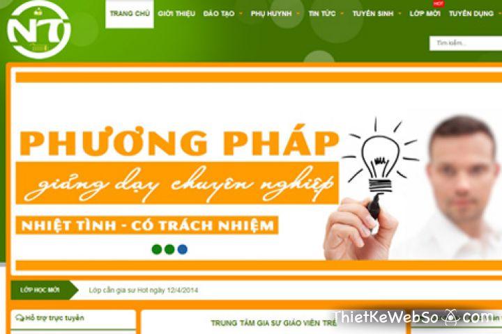 Thiết kế website giáo dục tại quận 1