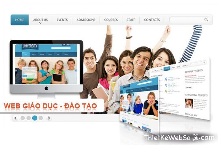 Thiết kế website giáo dục tại quận 2