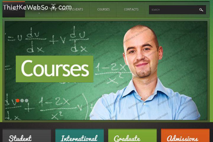 Thiết kế website giáo dục tại quận Phú Nhuận