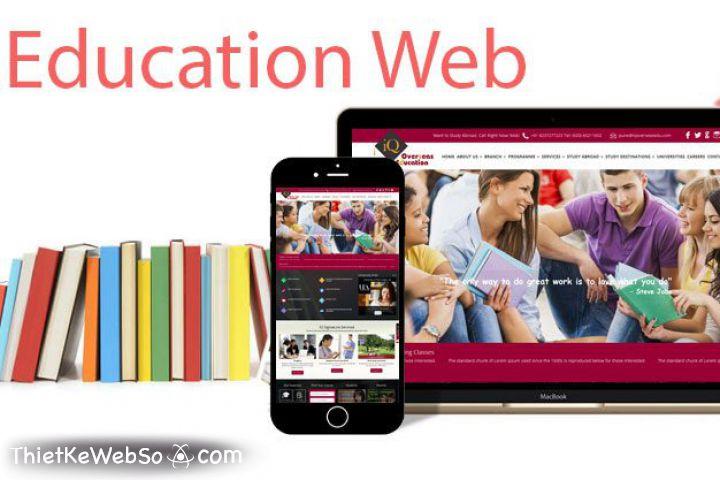 Bí quyết thiết kế website giáo dục thu hút người dùng