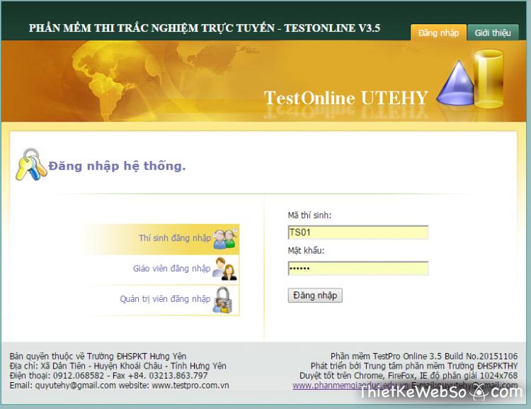 Thiết kế website thi trắc nghiệm tại quận 11