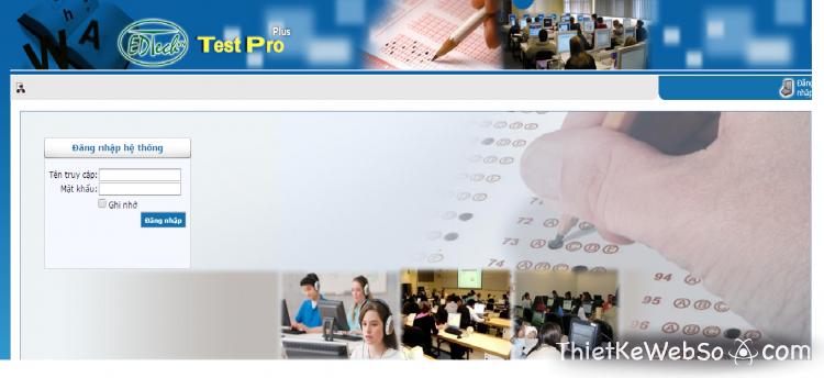 Thiết kế website thi trắc nghiệm tại quận 8