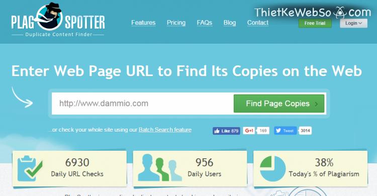 Các công cụ kiểm tra trùng lặp nội dung hữu ích cho website