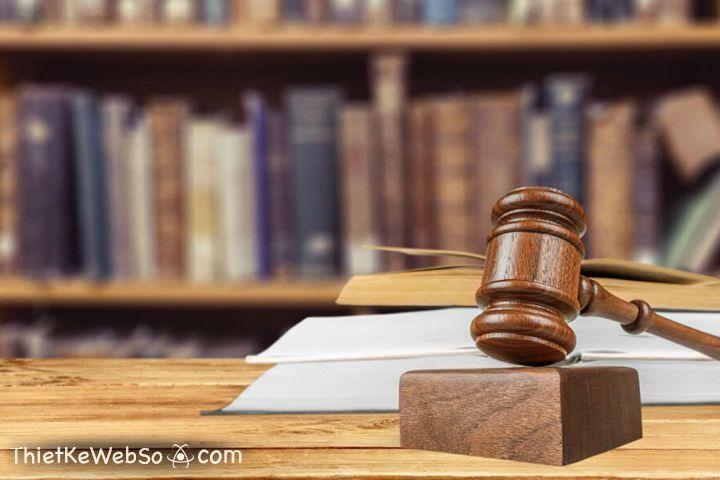Thiết kế website cho công ty Luật