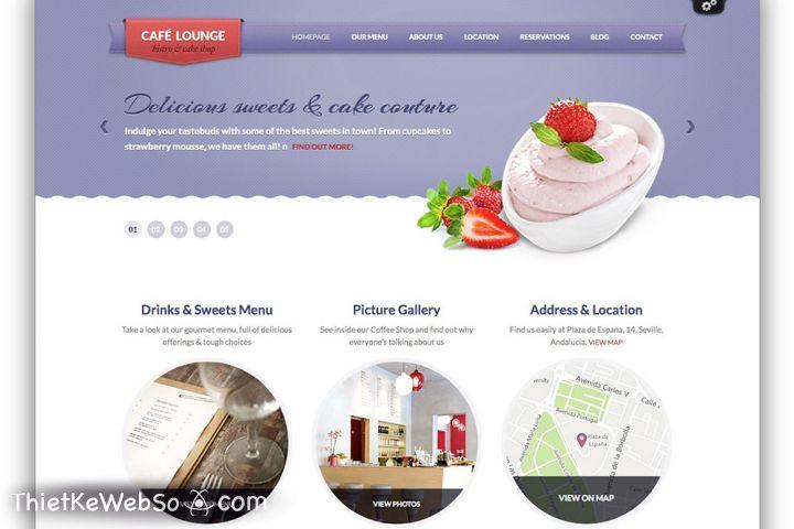 Thiết kế website cho tiệm bánh tại huyện Củ Chi