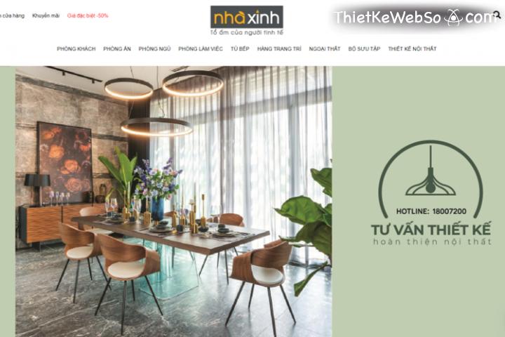 Thiết kế website nội thất xây dựng cần chú ý gì?