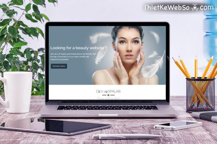 Thiết kế web Spa chuyên nghiệp