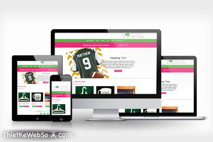 Thiết kế website bán hàng đa cấp tại quận 12