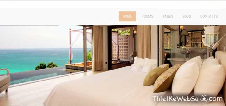 Thiết kế web khách sạn chuyên nghiệp