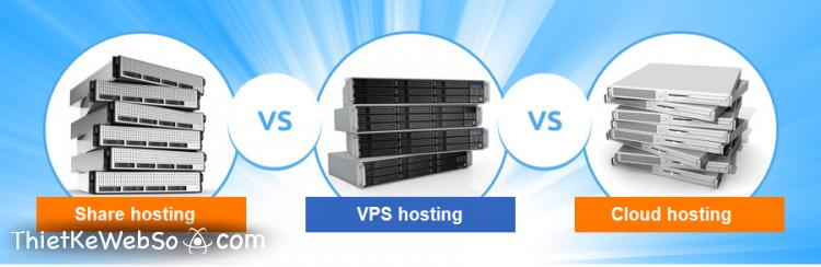 Các loại web hosting phổ biến