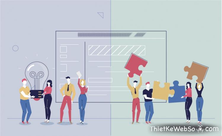 Dịch vụ thiết kế website kích thước chuẩn