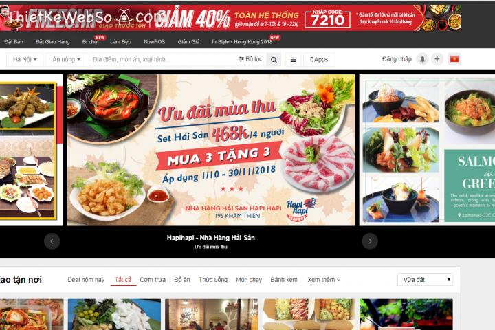 Tầm quan trọng của website nhà hàng ẩm thực