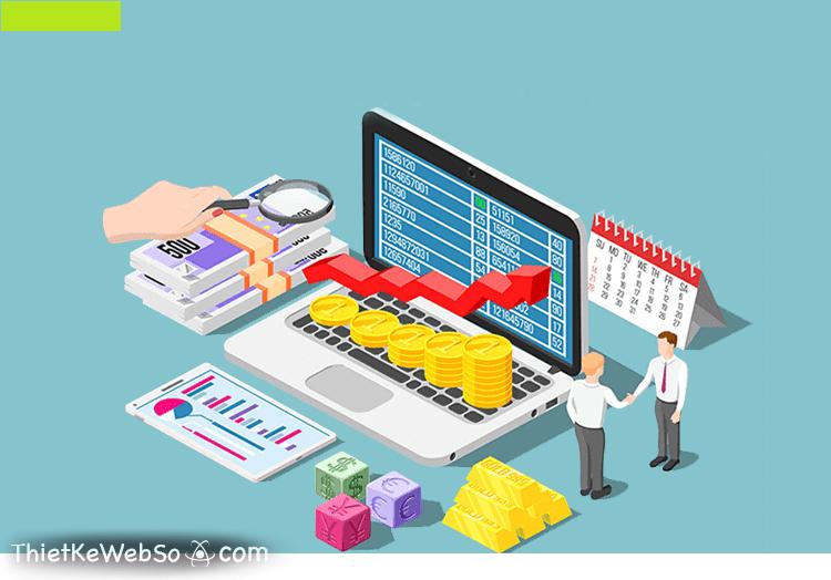 Dịch vụ thiết kế web mua bán tiền ảo bảo mật
