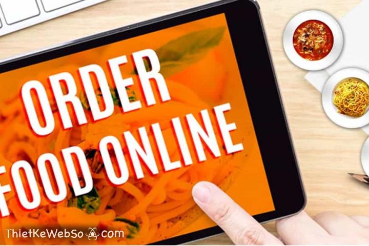 Dịch vụ thiết kế website nhà hàng và đặt món online