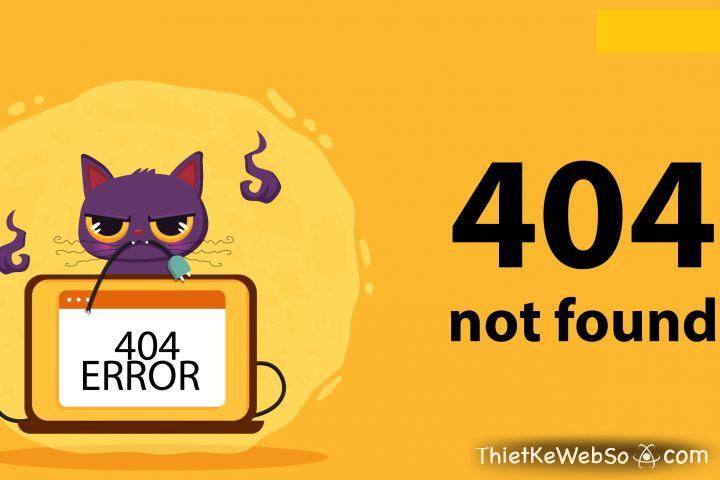 Cách khắc phục lỗi 404 Not Found đơn giản