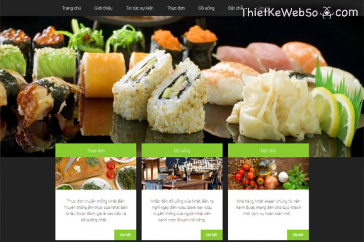 Những tính năng cần có khi thiết kế website nhà hàng