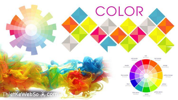 Những cách phối màu trong thiết kế website
