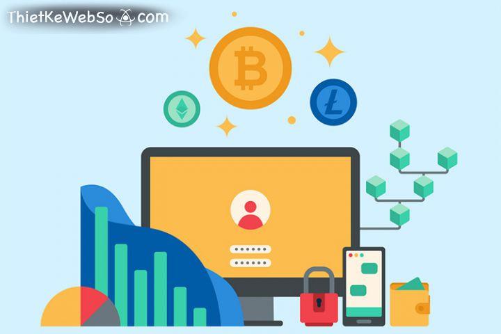 Công ty thiết kế web cryptocurrency bảo mật