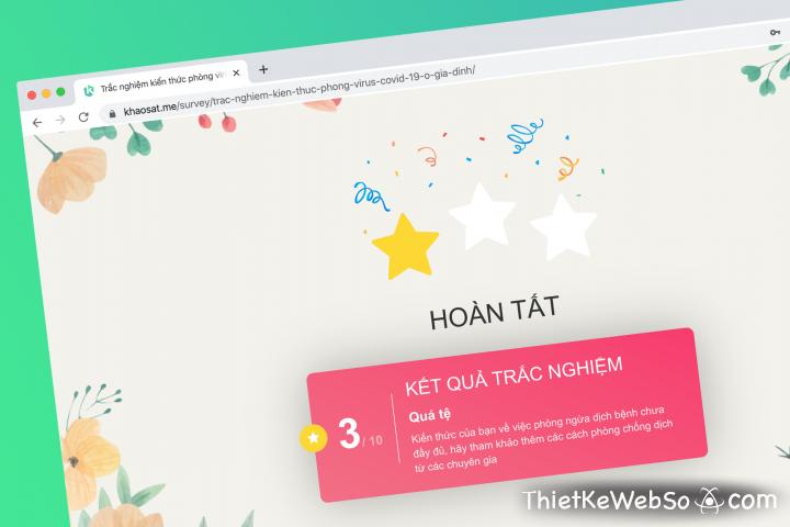 Đơn vị thiết kế website thi trắc nghiệm chuyên nghiệp