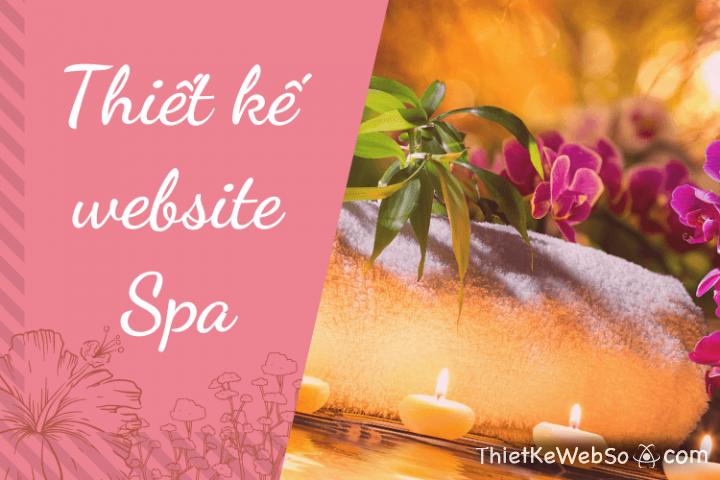 Đơn vị thiết kế website cho Spa