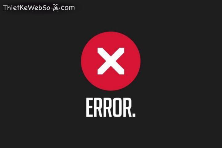 Các lỗi thường gặp khi truy cập website