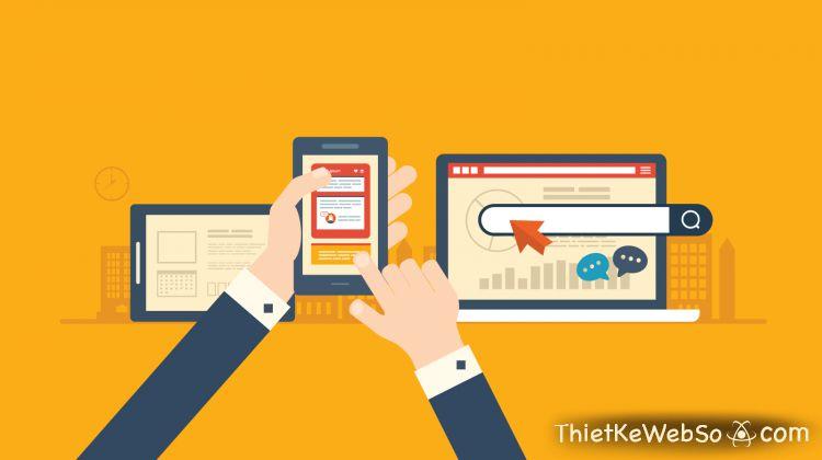 Dịch vụ thiết kế website phiên bản mobile là gì?