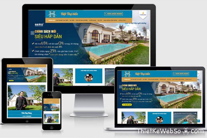 Công ty thiết kế website bất động sản chuyên nghiệp