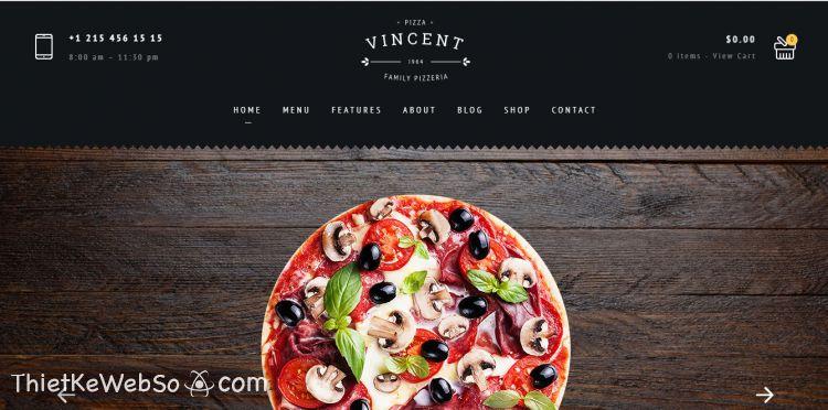 Công ty thiết kế website nhà hàng chuyên nghiệp