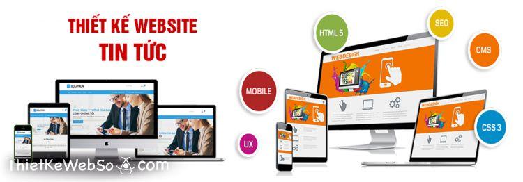 Công ty thiết kế website tin tức chuyên nghiệp