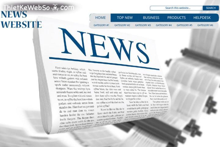 Dịch vụ thiết kế website tin tức uy tín