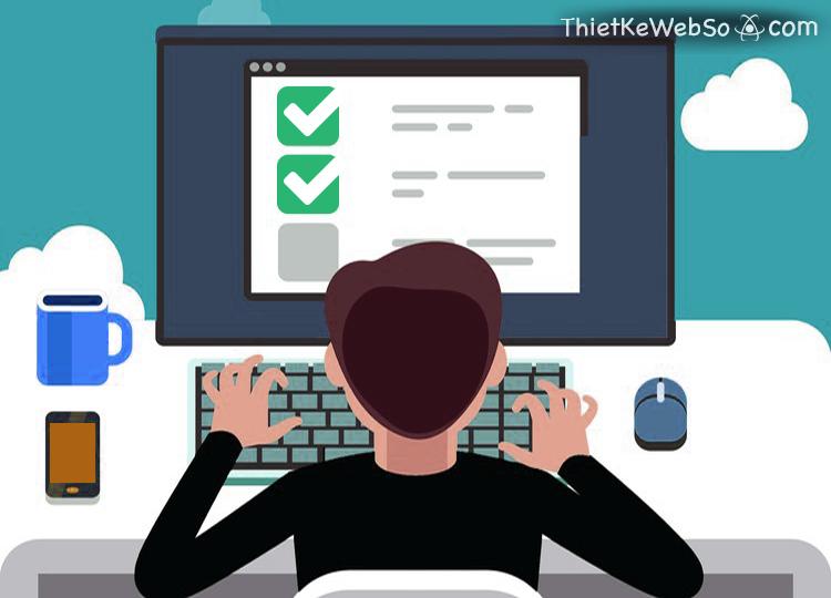 Dịch vụ thiết kế website thi trắc nghiệm online uy tín