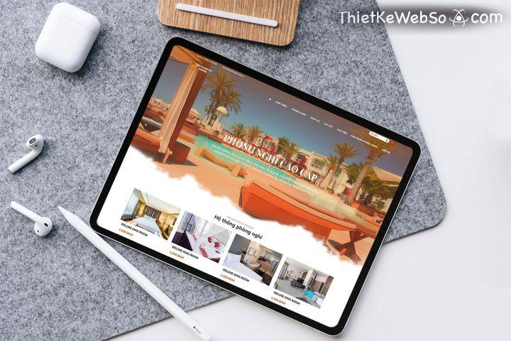 Thiết kế website khách sạn uy tín tại quận 10