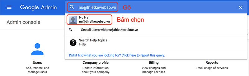 Tạo alias email trong G Suite