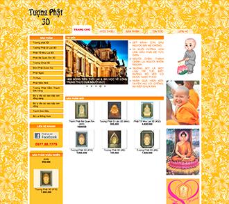 Tượng Phật 3D